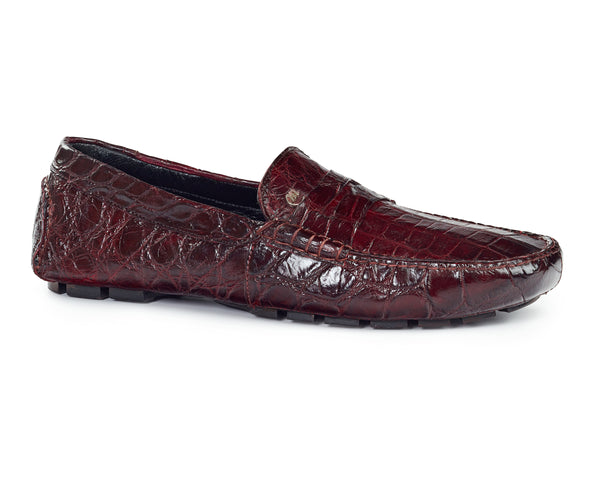 Mauri 3128 Ercole Alligator Driving Loafers