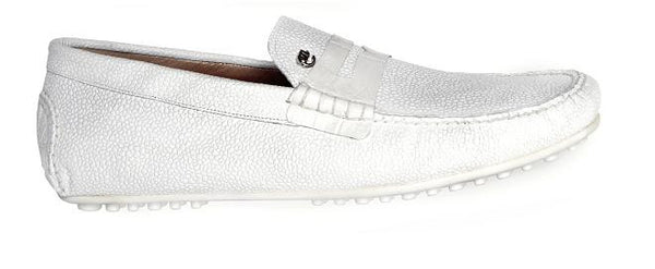 "Mauri - ""3128 Ravenna"" Pebble Grain Loafer - Dudes Boutique"