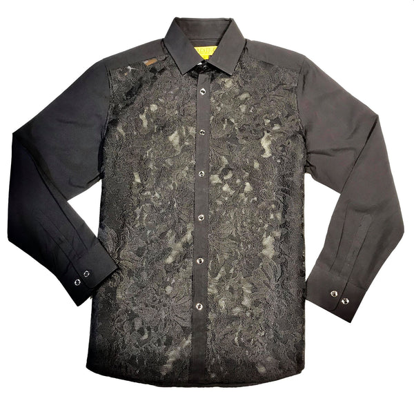 Prestige SPLASH Jacquard Button Up