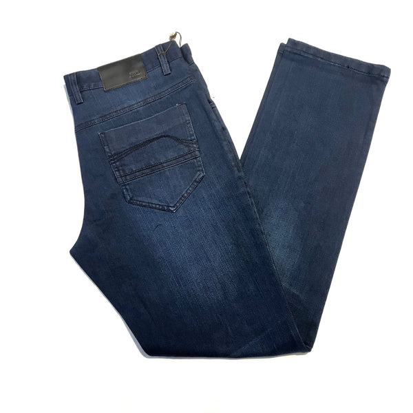 Enzo High-end Washed Denim Pants - Dudes Boutique