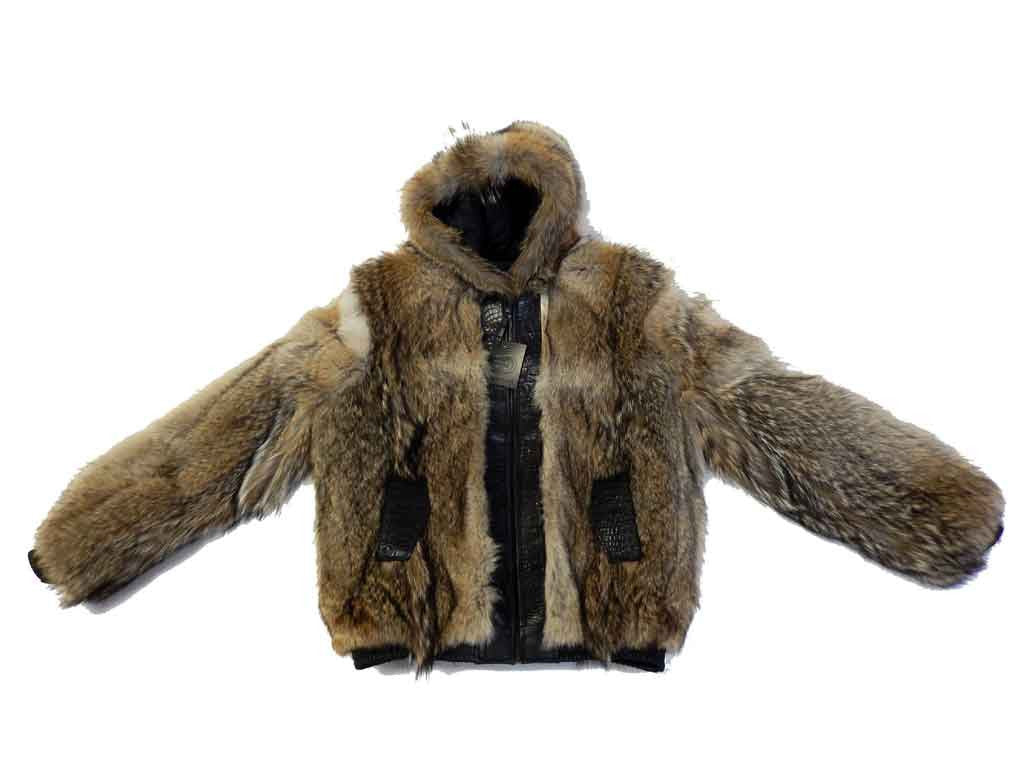G-Gator - 4010 Raccoon/Crocodile Hooded Jacket - Dudes Boutique