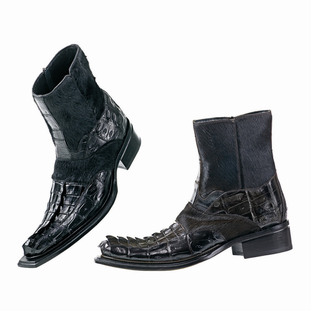 Mauri - 42746 Hornback/Pony Hair Boot - Dudes Boutique