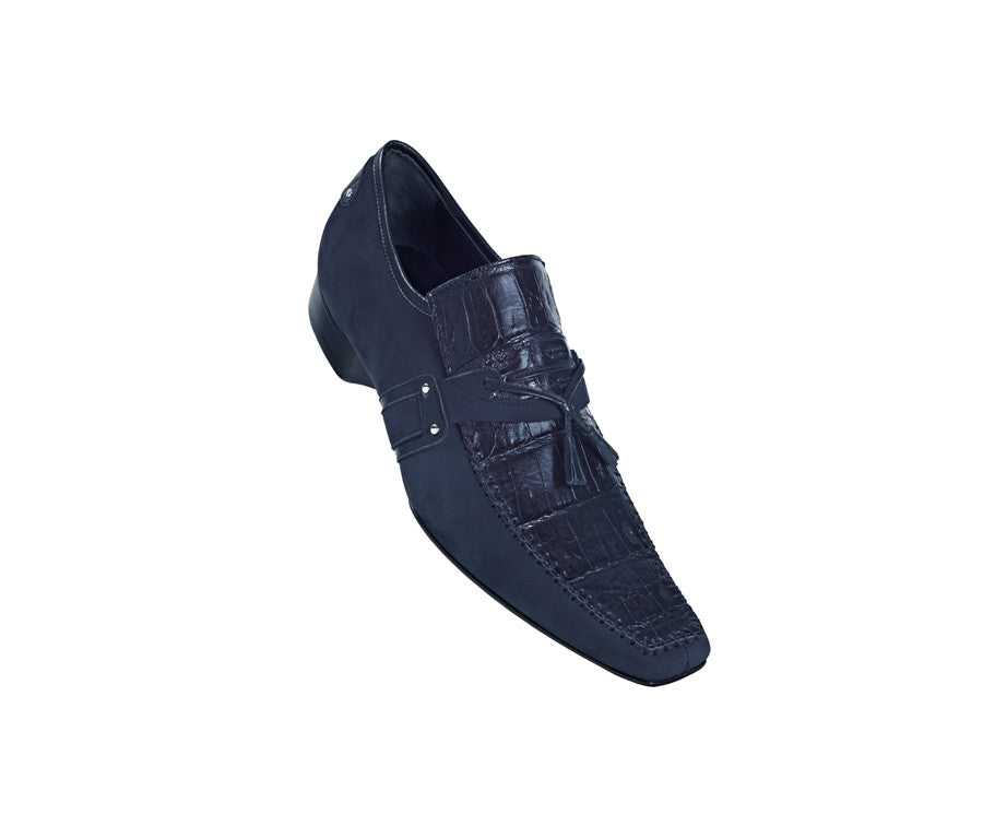 "Mauri - ""42869 Dynamic"" Crocodile Loafer - Dudes Boutique"