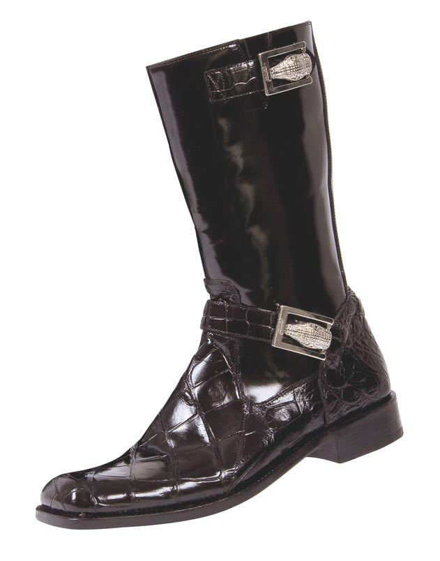 "Mauri - 44224 ""Uptown"" Alligator/Dover Calf Boot - Dudes Boutique"