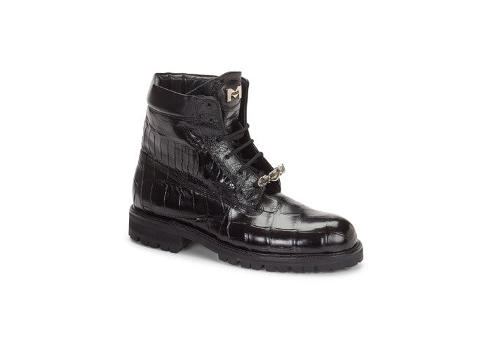"Mauri - 4637 ""Commando"" Alligator/Ostrich Boot - Dudes Boutique"