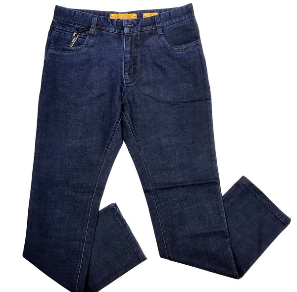 Enzo Getty-4 Men's Blue Denim Pants