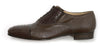 "Mauri - ""4660 Capitano"" Ostrich Leg Oxford Dress Shoe - Dudes Boutique - 3"