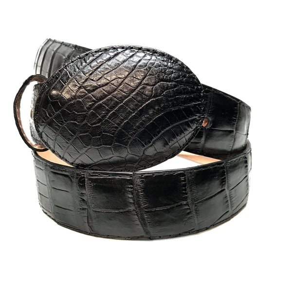 Safari Alligator Skin Belt