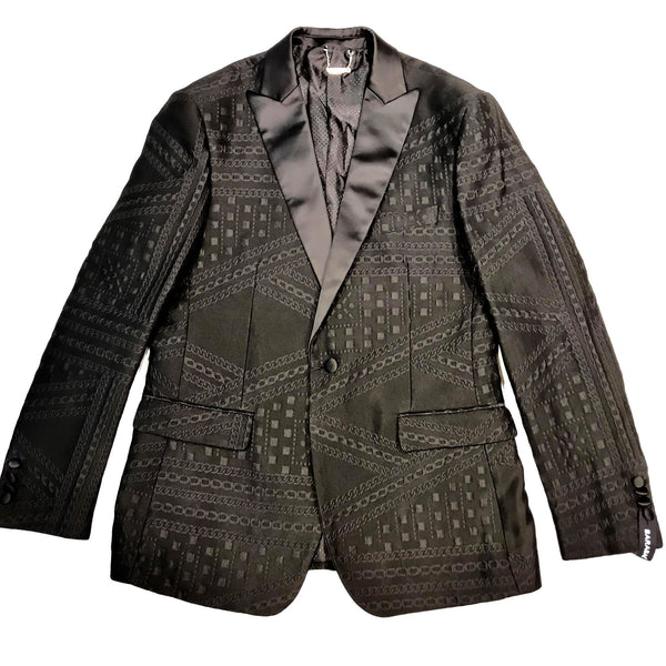 Barabas Triple Stitched Chained Blazer - Dudes Boutique