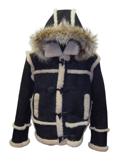 Jakewood - 4700 Sheepskin Marlboro Style Jacket - Dudes Boutique - 1