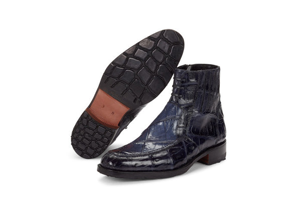 "Mauri - 4701 ""Albricci"" Hand-Painted Alligator Boot"
