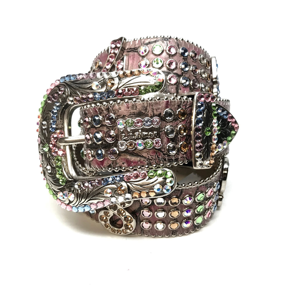 b.b. Simon 'Numbers' Crystal Belt - Dudes Boutique