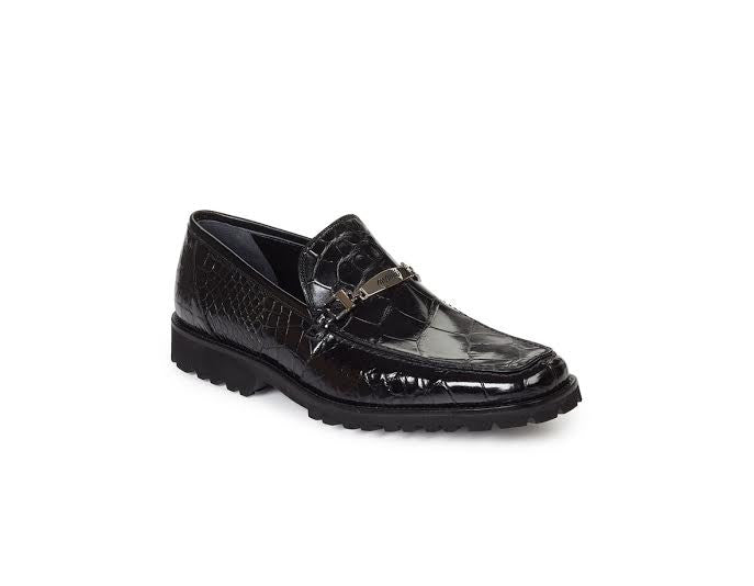 Mauri - 4692 All Over Alligator With Bracelet Loafers - Dudes Boutique - 1