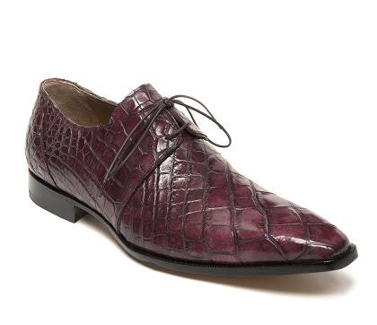 "Mauri - ""53125 Cardinale"" All Over Alligator Dress Shoe - Dudes Boutique"