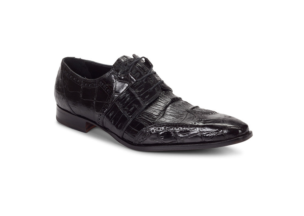 "Mauri - 53130 ""Meravigli"" Alligator/Baby Croc Dress Shoe"