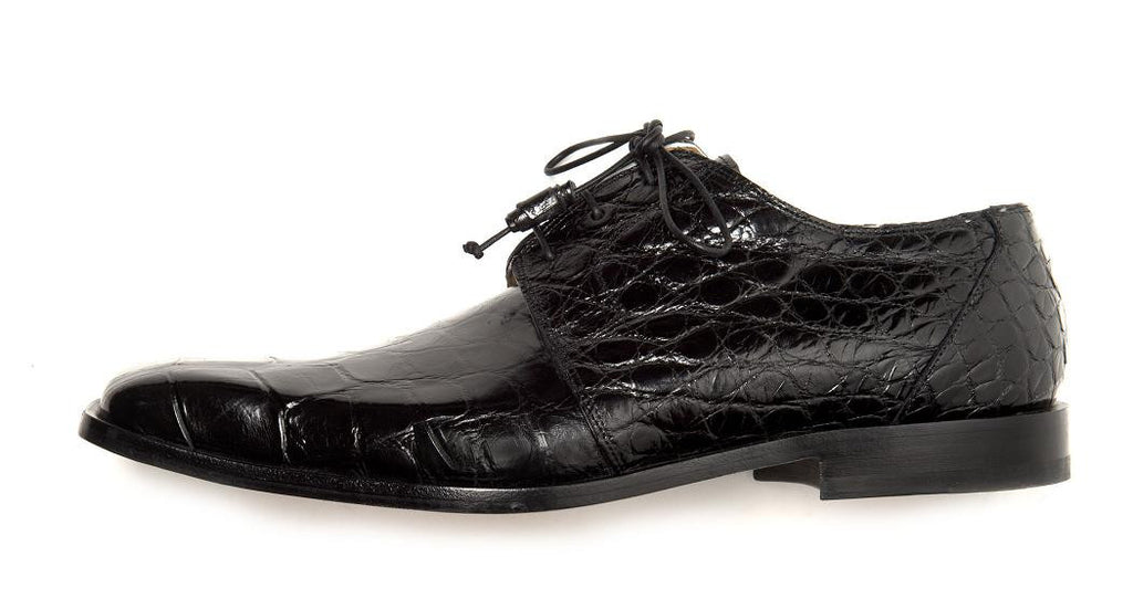 "Mauri - ""53141/1 Bartolomeo"" All Over Alligator Lace Up - Dudes Boutique"