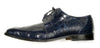 "Mauri - ""53141/1 Bartolomeo"" All Over Alligator Lace Up - Dudes Boutique - 3"