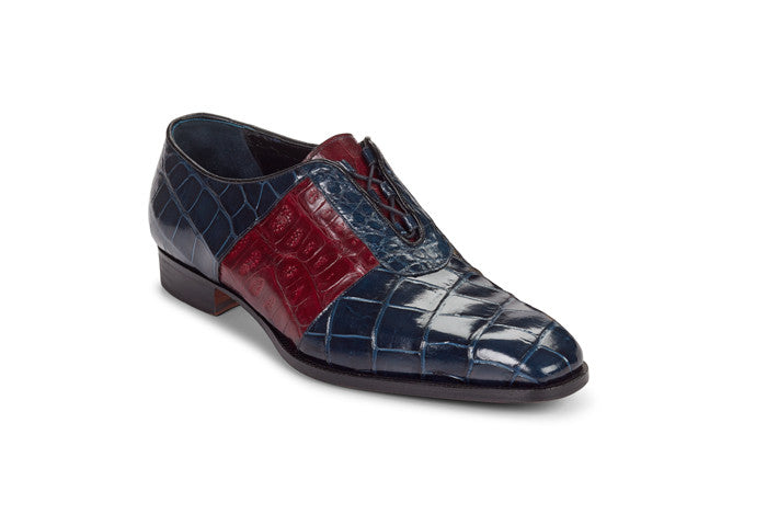 "Mauri - 53169 ""Giardini"" Alligator/Baby Croc Dress Shoe"