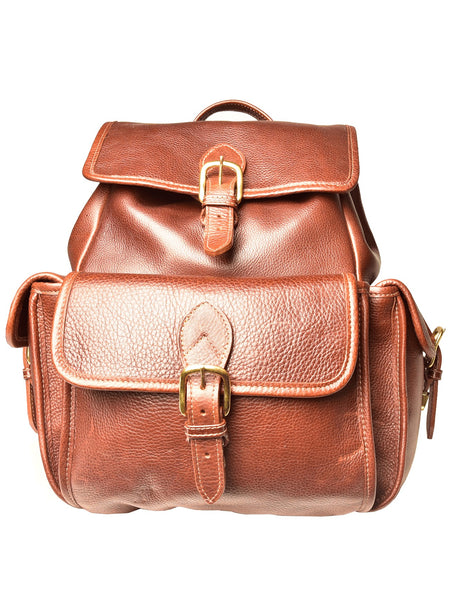 Aston Leather 535BP Brown Valley Backpack - Dudes Boutique