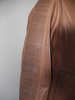Missani Tan Leather Jacket - Dudes Boutique - 3