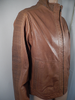 Missani Tan Leather Jacket - Dudes Boutique - 4