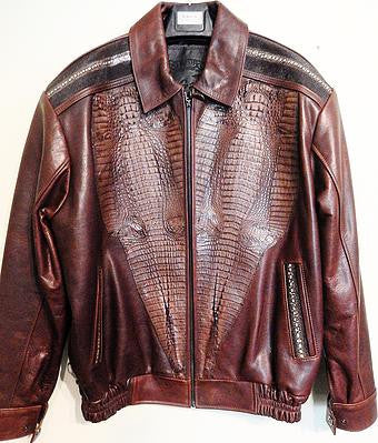 G-Gator 2038 Alligator x Stingray Jacket - Dudes Boutique
