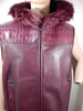 G Gator - Burgundy Fox x Crocodile Vest - Dudes Boutique