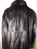Grand Pieles 'Black' Beaver Fur Coat - Dudes Boutique - 2