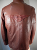 G Gator - 2003 Cognac Crocodile Skin Jacket - Dudes Boutique