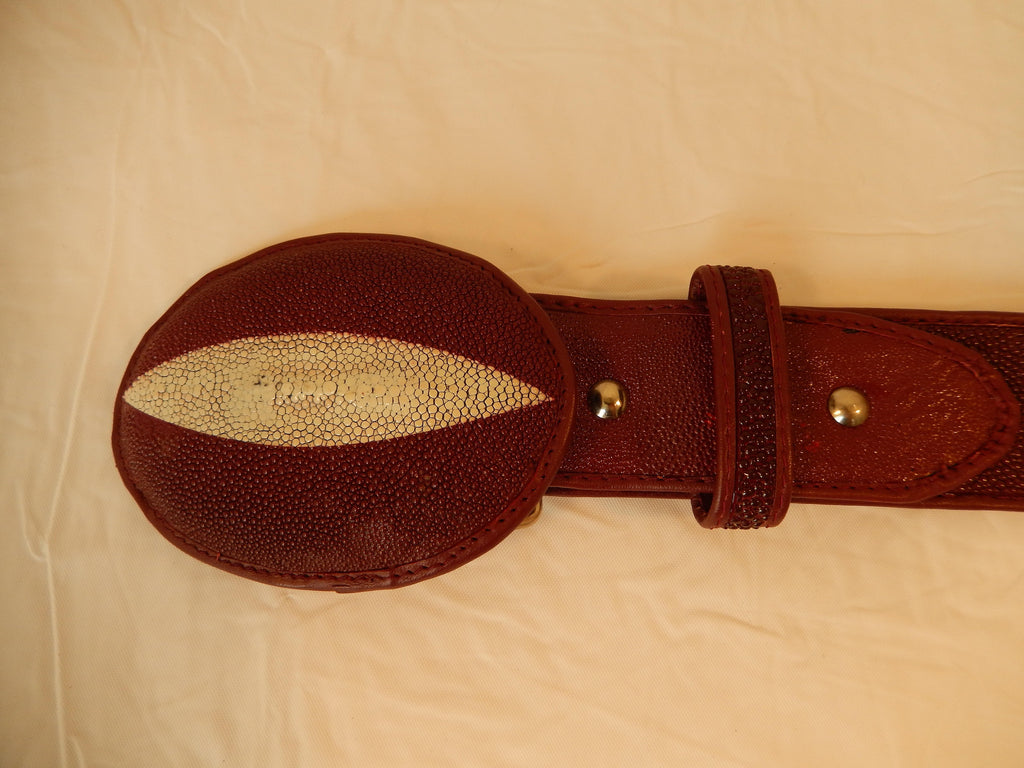 Lebedas Stingray Belt - Dudes Boutique - 4
