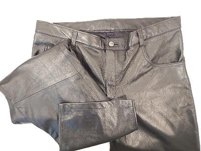 G Gator - Baby Lamb Skin Leather Pants - Dudes Boutique