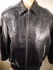 Kashani Custom Alligator Stingray Row Stone Bomber Jacket - Dudes Boutique
