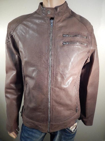 Transmission Leather Jacket - Dudes Boutique - 1
