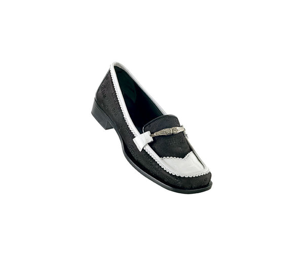 "Mauri - ""7334 Aerial"" Women's Crocodile Loafer - Dudes Boutique"