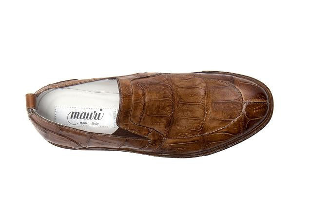 "Mauri - ""8699 Corsica"" All Over Crocodile Slip On - Dudes Boutique"