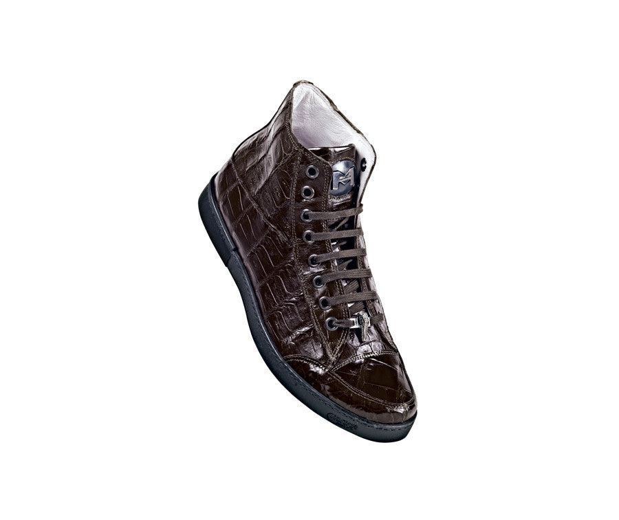"Mauri - ""8888 Understated"" All Over Crocodile and Alligator Sneakers - Dudes Boutique - 1"