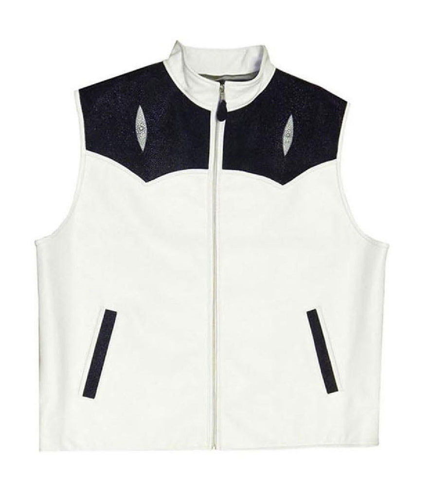 G-Gator - 910 Stingray/Lambskin Vest - Dudes Boutique