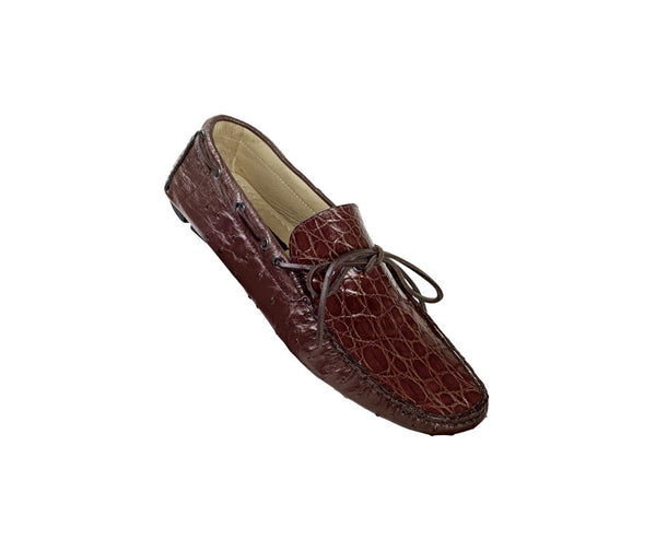 "Mauri - ""9131 Band"" All Over Ostrich Loafer - Dudes Boutique"