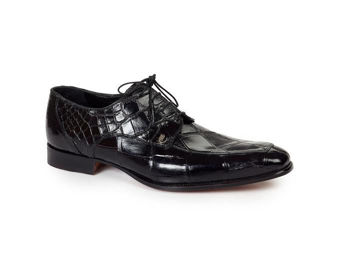 Mauri - 4642 Arsenal Body Alligator Dress Shoes - Dudes Boutique