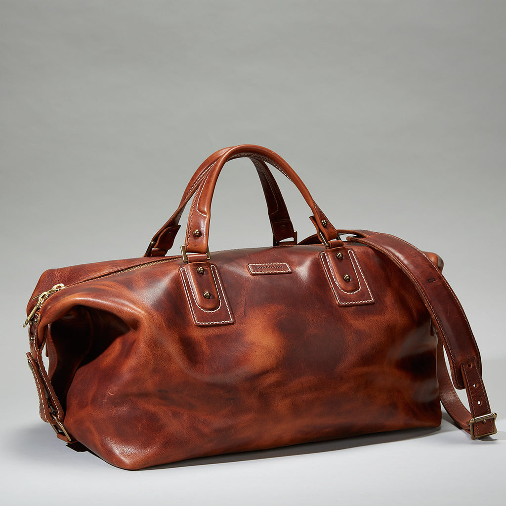 Coronado Leather Americana Duffel Leather Bag - Dudes Boutique