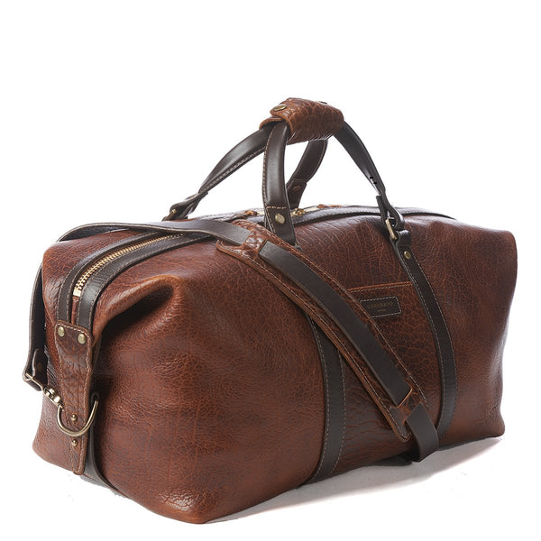 Coronado Leather No.105 Bison Duffel Bag