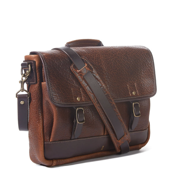 Coronado Bison Messenger Bag - Dudes Boutique