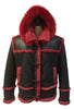 Jakewood - 4700 Sheepskin Marlboro Style Jacket - Dudes Boutique - 4