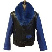 G-Gator - 3011 Motorcycle With Fur Collar Jacket - Dudes Boutique