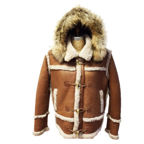 Jakewood - 4700 Sheepskin Marlboro Style Jacket - Dudes Boutique - 6