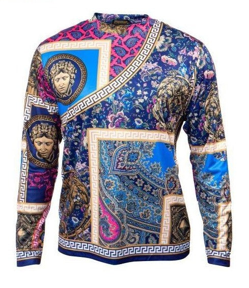 Prestige Medusa Multi-color L/S Shirt - Dudes Boutique