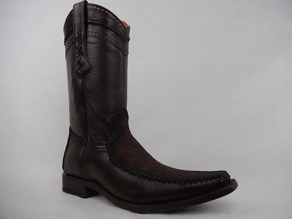 King Exotic Elephant Skin Boot - Dudes Boutique - 1