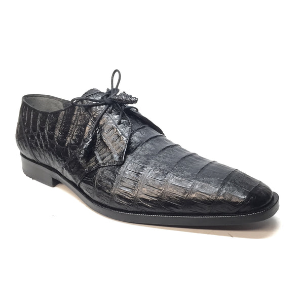 Los Altos Crocodile Belly Oxford Dress Shoes