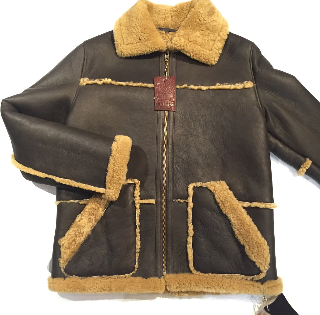 Jakewood Napa Shearling Jacket - Dudes Boutique - 1