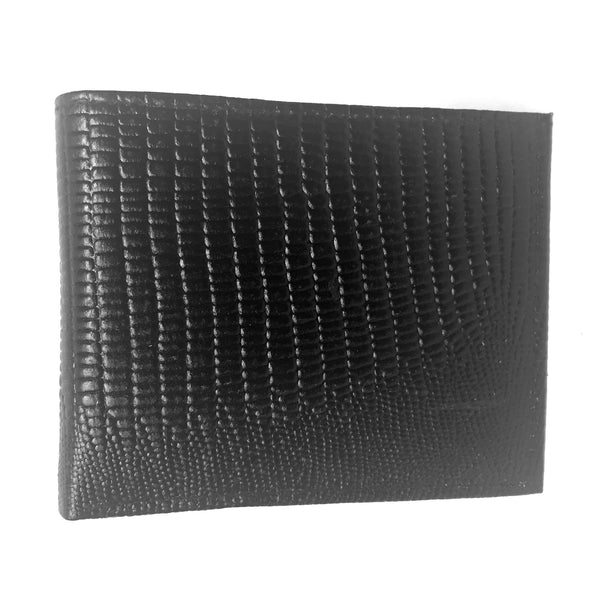 Leather Impressions Lizard Print Leather Wallet - Dudes Boutique - 1